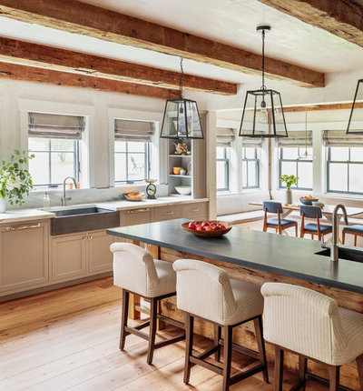 Farmhouse Kitchen by Jess Cooney Interiors