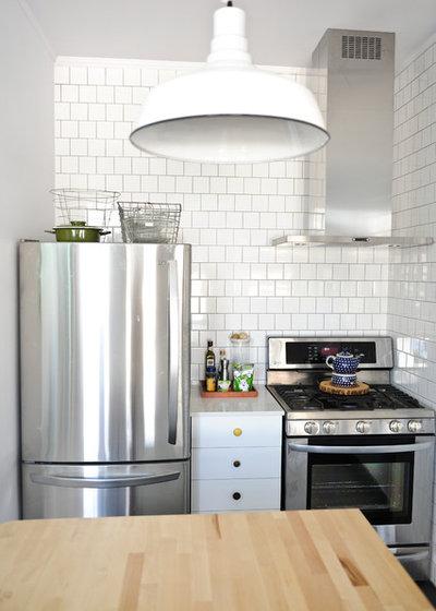 Så får du mer plats för förvaring i små kök