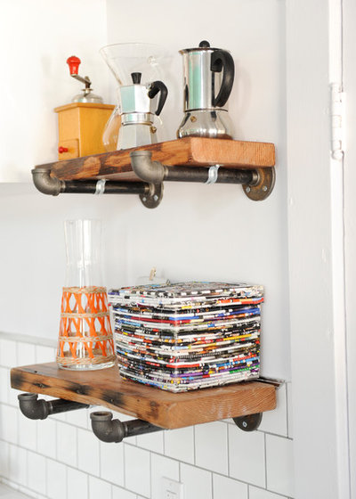 Eclectic Kitchen by A not bad Chick To Know