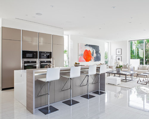 Open kitchen design houzz for Open kitchen design
