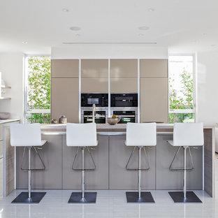 Fresh idea of an an open modern kitchen design somewhere in Beverly Hills, CA
