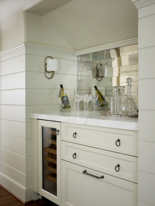 Mirrored subway tile home design ideas pictures remodel for Mirrored subway tiles