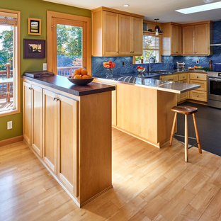 Fresh Maple Kitchen Remodel