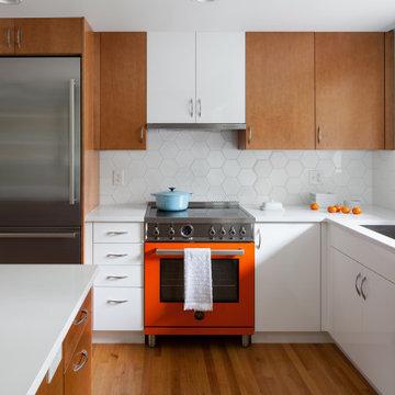 Fresh Mid-Century Kitchen Reno