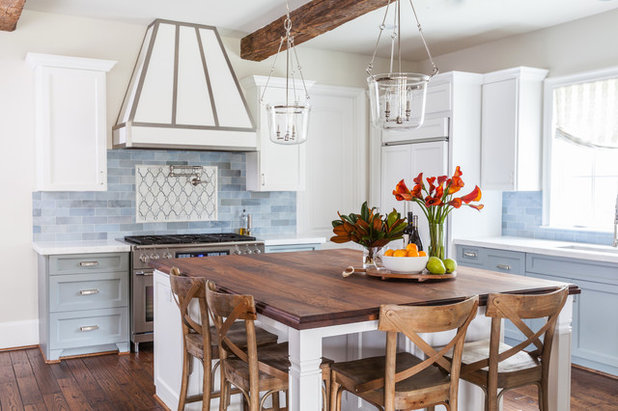 Farmhouse Kitchen by Marie Flanigan Interiors