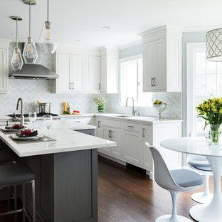 Mosaic Tile Kitchen Backsplash Ideas   Houzz