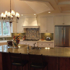Eclectic Kitchen by Modern Design Cabinetry
