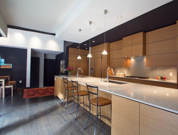 Modern Kitchen by Dark Horse Woodworks