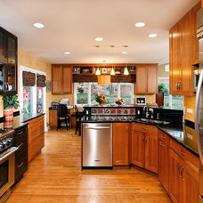 Traditional Kitchen by Tabor Design Build, Inc.