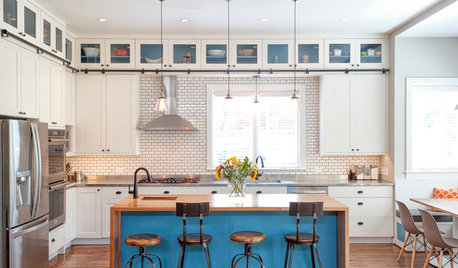 Kitchen of the Week: Family-Friendly Vintage Industrial Style