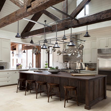 Farmhouse Kitchen by Dalgleish Construction Company