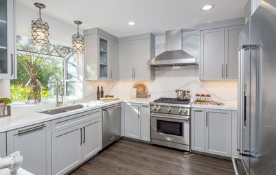 Kitchen of the Week: Streamlined Style in 125 Square Feet