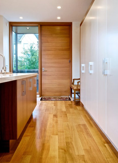Modern Kitchen by Andrew Snow Photography & Design Workshop: Thinking Differently About Doors