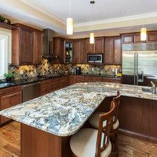 Traditional Kitchen by Hibbs Homes, LLC