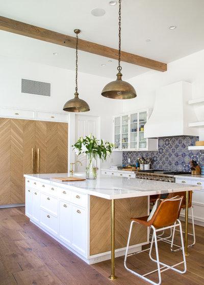 Transitional Kitchen by Dana Benson Construction