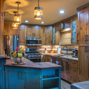 "Ft Collins ""(Rustic Beach Home"") Kitchen remodel"