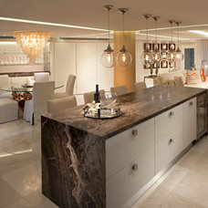 Contemporary Kitchen by RS3 DESIGNS