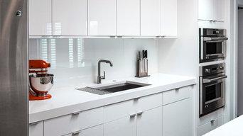Ft. Thomas Modern Kitchen in White