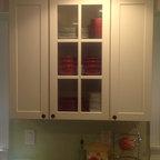 Maple Kitchen Cabinets Fairmont Door Style Cliqstudios