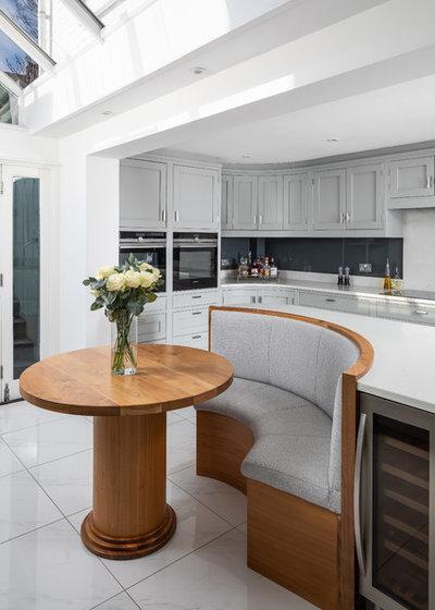 Transitional Kitchen by Jones Britain Kitchens