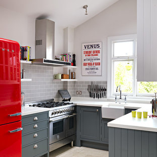 75 Beautiful Red Kitchen Pictures Ideas April 2021 Houzz