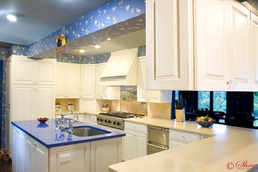 Full Blue Kitchen