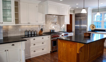 Full Custom Traditional Kitchen with Cherry Island