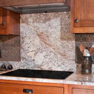 Miraculous Full Height Granite Backsplash Houzz Interior Design Ideas Tzicisoteloinfo