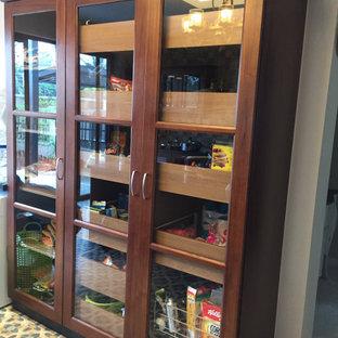 Full height kitchen cabinet in Teak by Hoop Pine