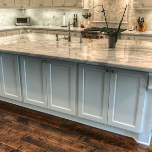 75 Most Popular Traditional Kitchen with Recycled Glass Countertops