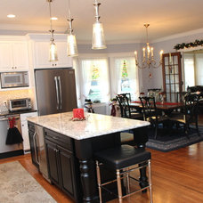 Traditional Kitchen by Brindisi Builders