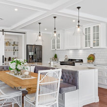 Kitchens Incorporating Bench Seating