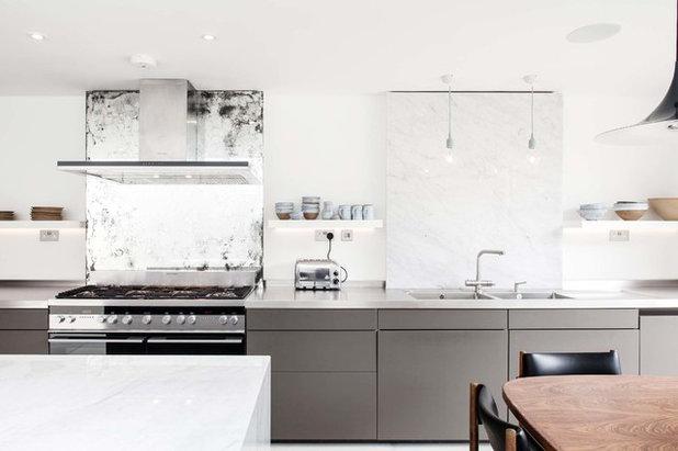 Trendy Køkken by Trevor Brown Architect
