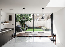 Love the kitchen! Where do you source your glazing from?