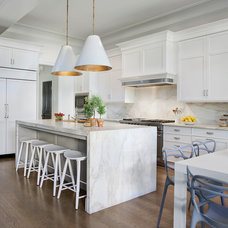 Transitional Kitchen by SPACE Architects + Planners