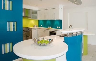 Summer Color Combo: Turquoise and Lime
