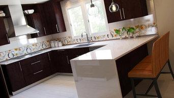 Fun and Modern Kitchen