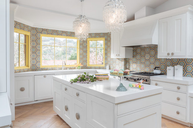 Room Of The Day: A California Kitchen Boots Out Beige