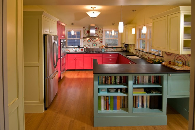 Eclectic Kitchen by live-work-play
