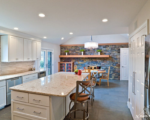 Large philadelphia home design ideas renovations photos for Kitchen cabinets quakertown pa