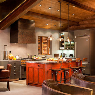 Funky Cabin Kitchen