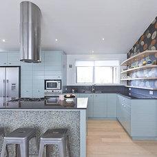 Eclectic Kitchen by Natalie Du Bois