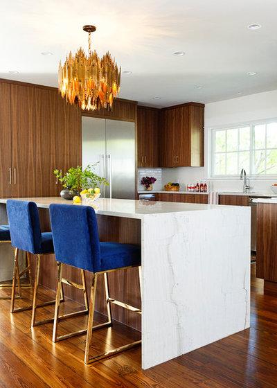 Contemporary Kitchen by Allison Crawford Design