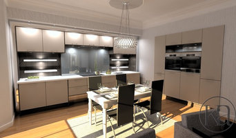 Furnished Contemporary Kitchen Design