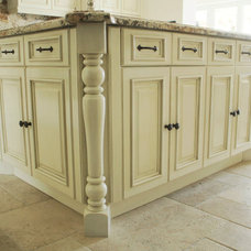 Traditional Kitchen by Parlor Arts/ NYC Wall Finishes
