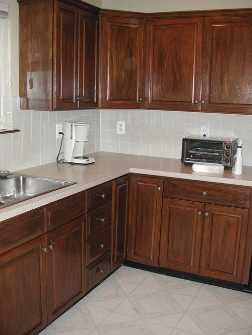 Kitchen Design Ideas Renovations Photos With Green Cabinets And Linoleum Floors