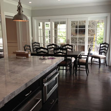Traditional Kitchen by Michelle Winick Design