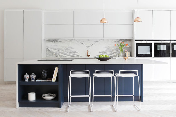 Contemporary Kitchen by Ruth Maria
