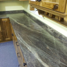 Traditional Kitchen by Vangura Surfacing Products
