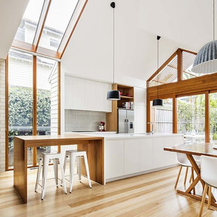 High Ceiling Modern Kitchen Photos Houzz